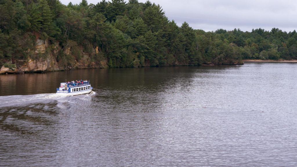 Wisconsin river, Wisconsin Dells