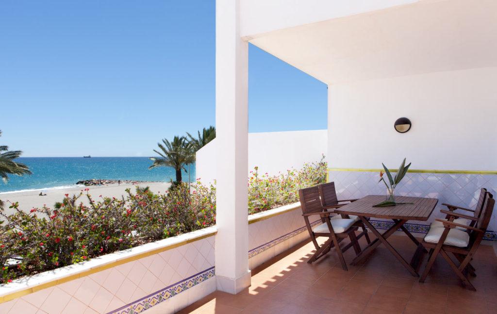Vera Playa Hotel in Spain Balcony View