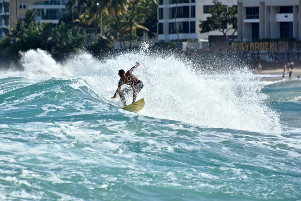Candado Beach, San Juan in Puerto Rico
