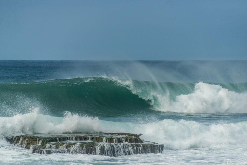 Crashing Wave at Aguadilla, Puerto Rico