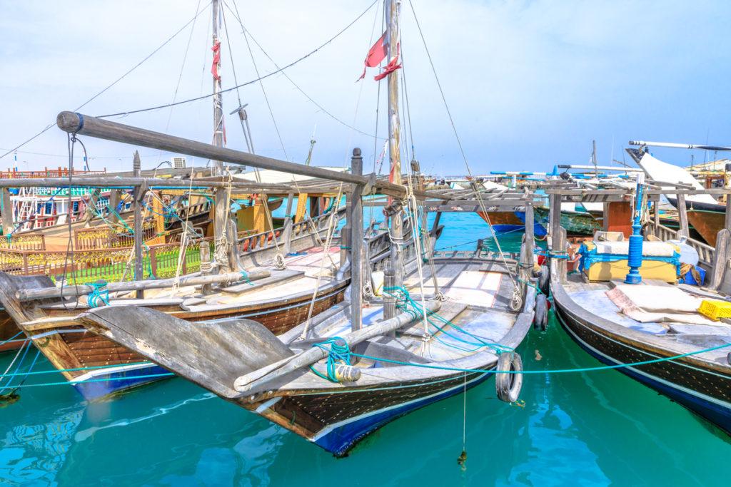 Fishing boats in Al Khor
