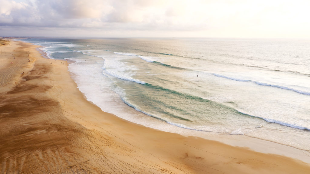 Hossegor Seignosse Beach