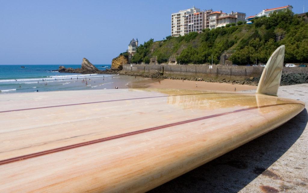Longboarding in Biarritz