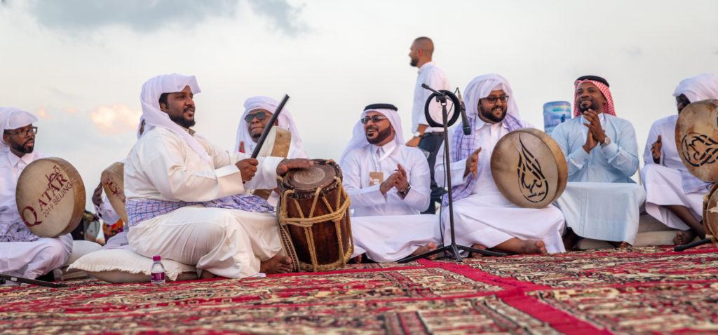 Qatar traditional folklore dance