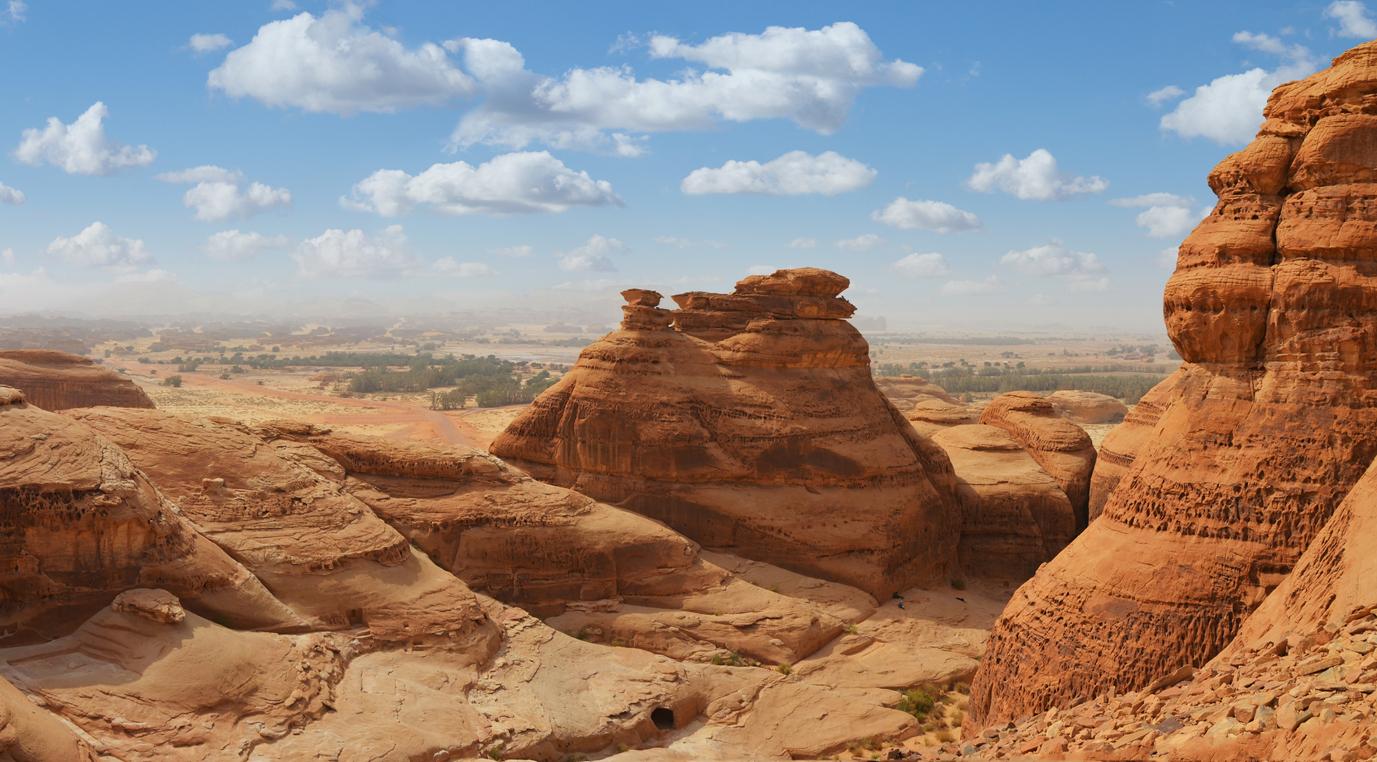 Top 5 Places in Saudi Arabia