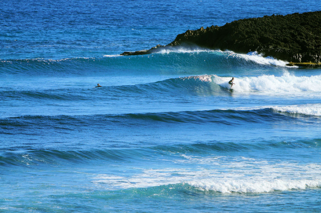 Tropical Surfing in Puerto Rico