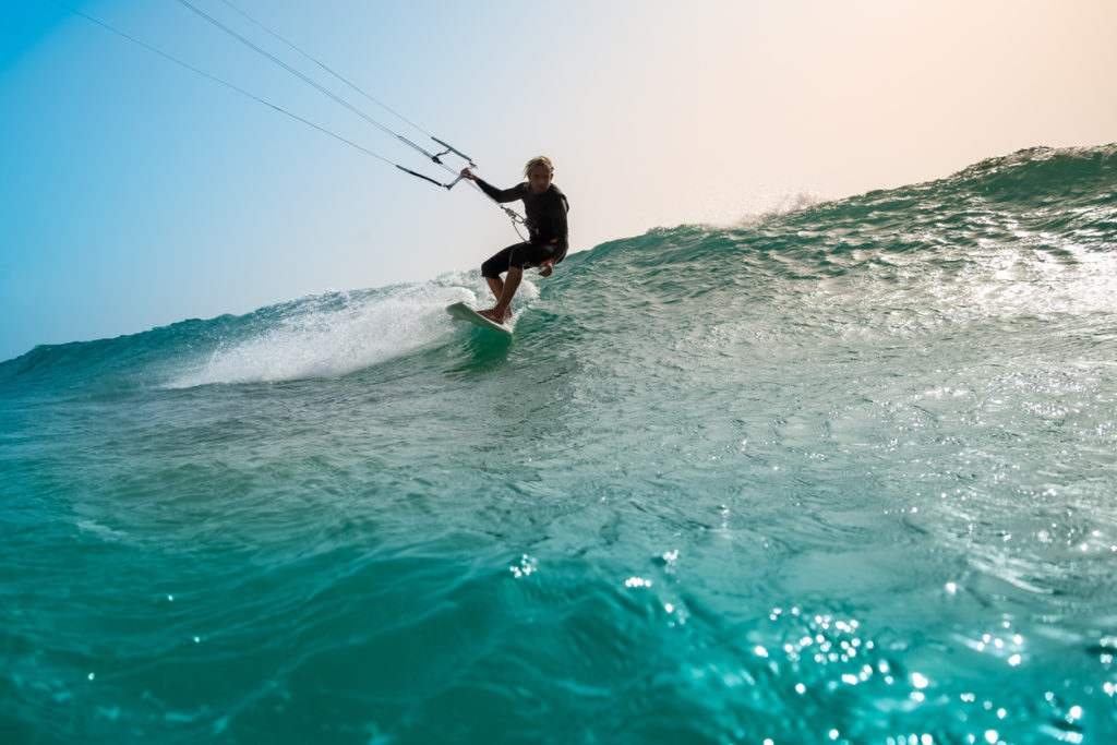 Kite Surfing in Fuerteventura
