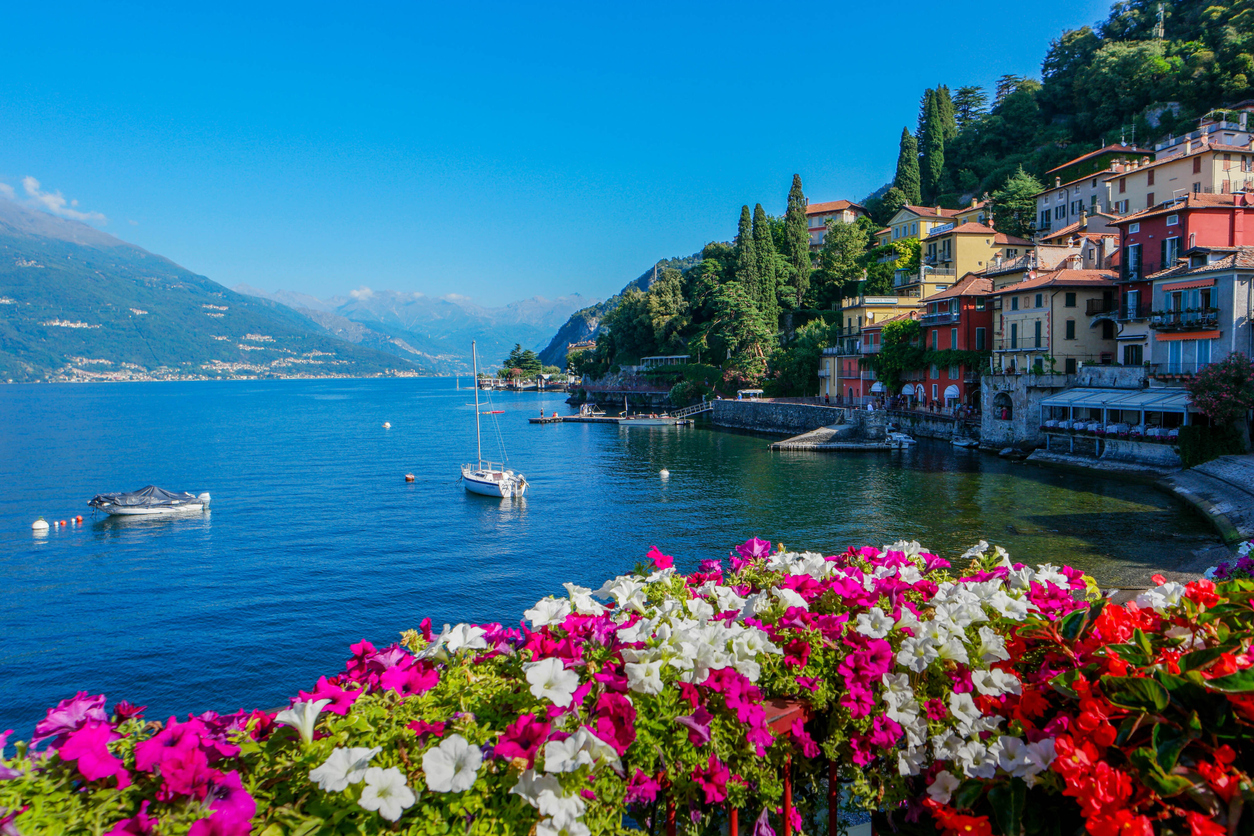 Summer at Lake Como