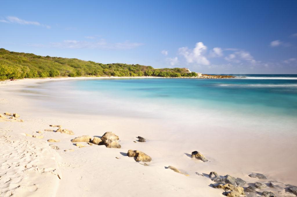 A Beautiful Antigua Beach