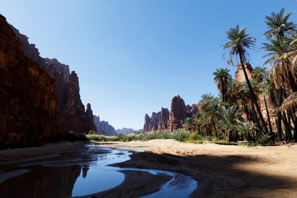 Wadi Disah, also known as Wadi Qaraqir