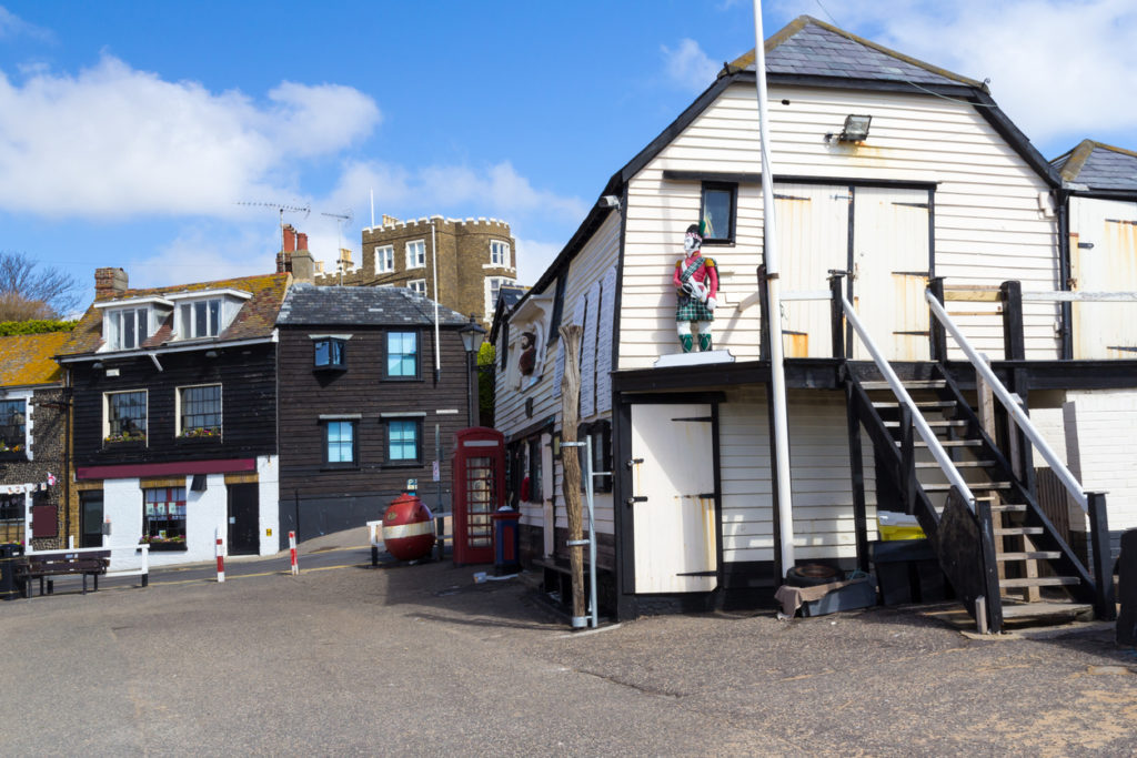Broadstairs Lifeboat Station and Bleak House