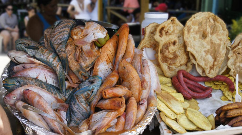 Fish Market in Dominica