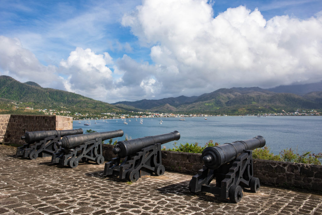 Fort Shirley in Cabrits National Park, Dominica