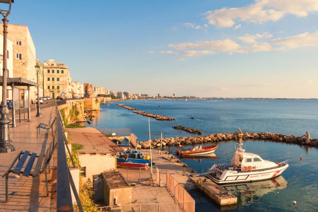 Italian city of Taranto
