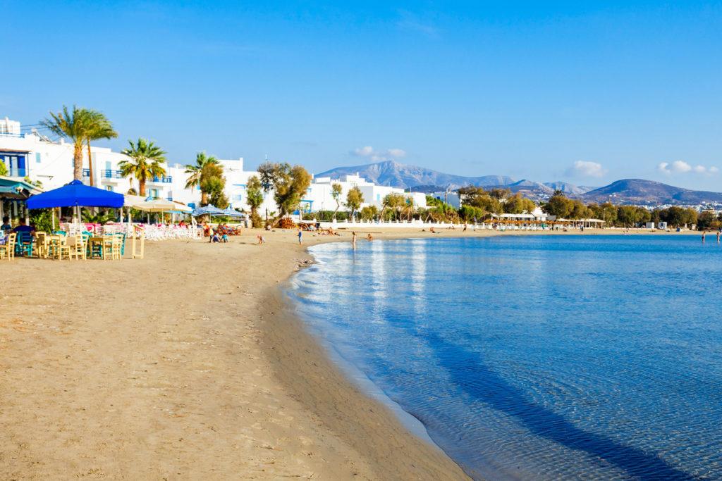 Naxos Beach in Agios Georgios