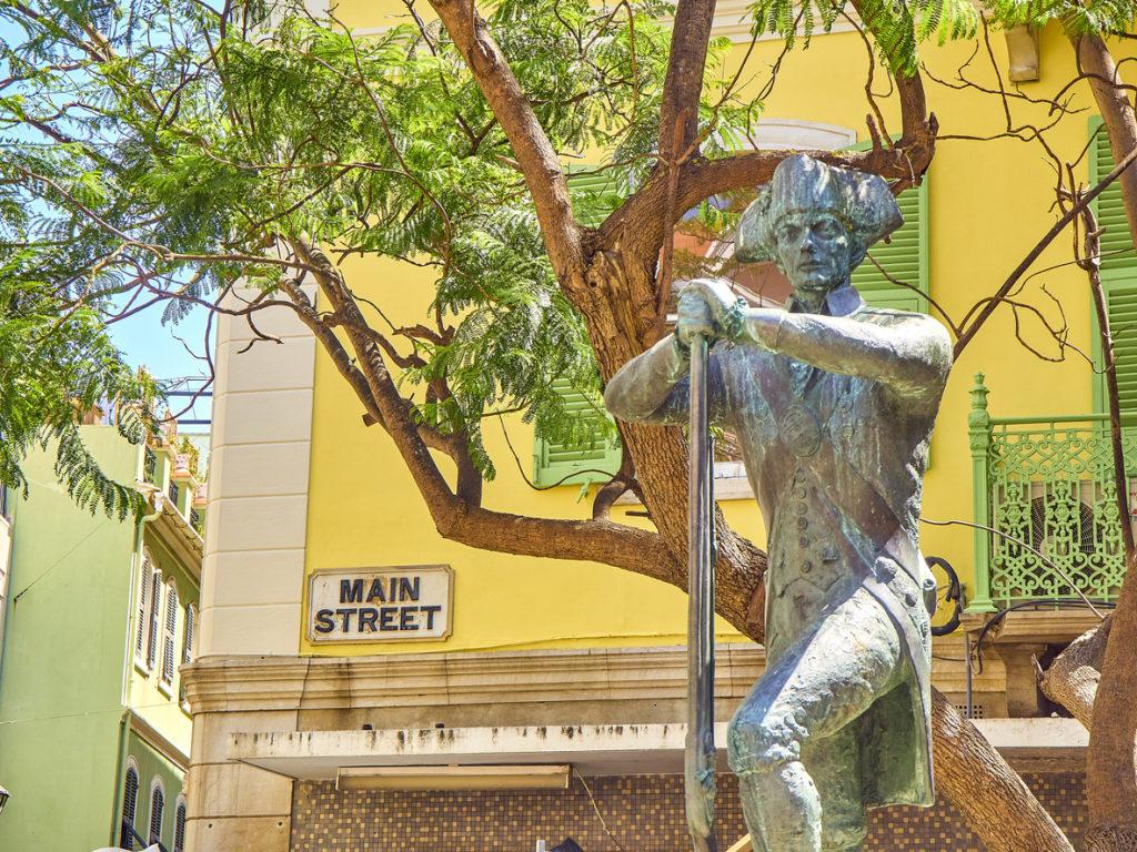 Royal Engineers Statue. Gibraltar