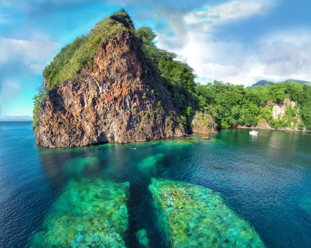 Split Rock, Dominica