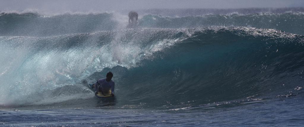 Bodyboarder Waikiki