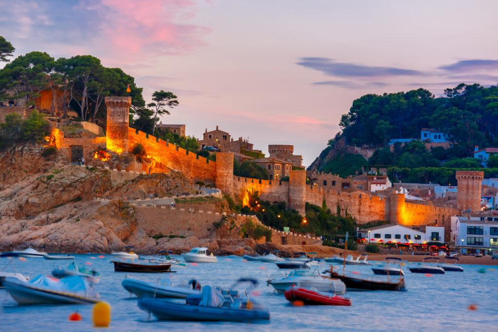 Castle in Tossa de Mar