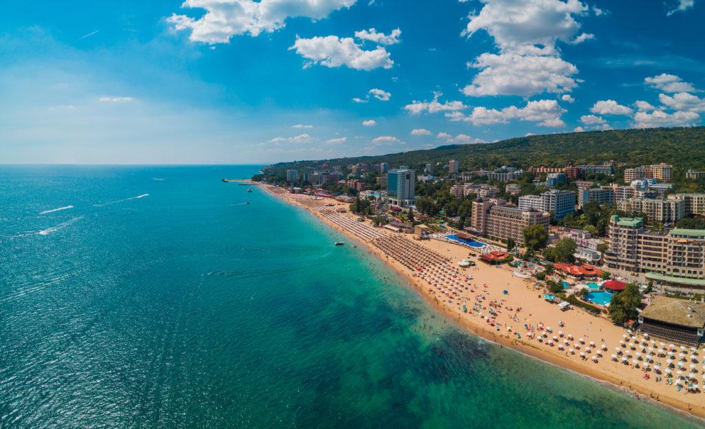 Golden Sands in Bulgaria