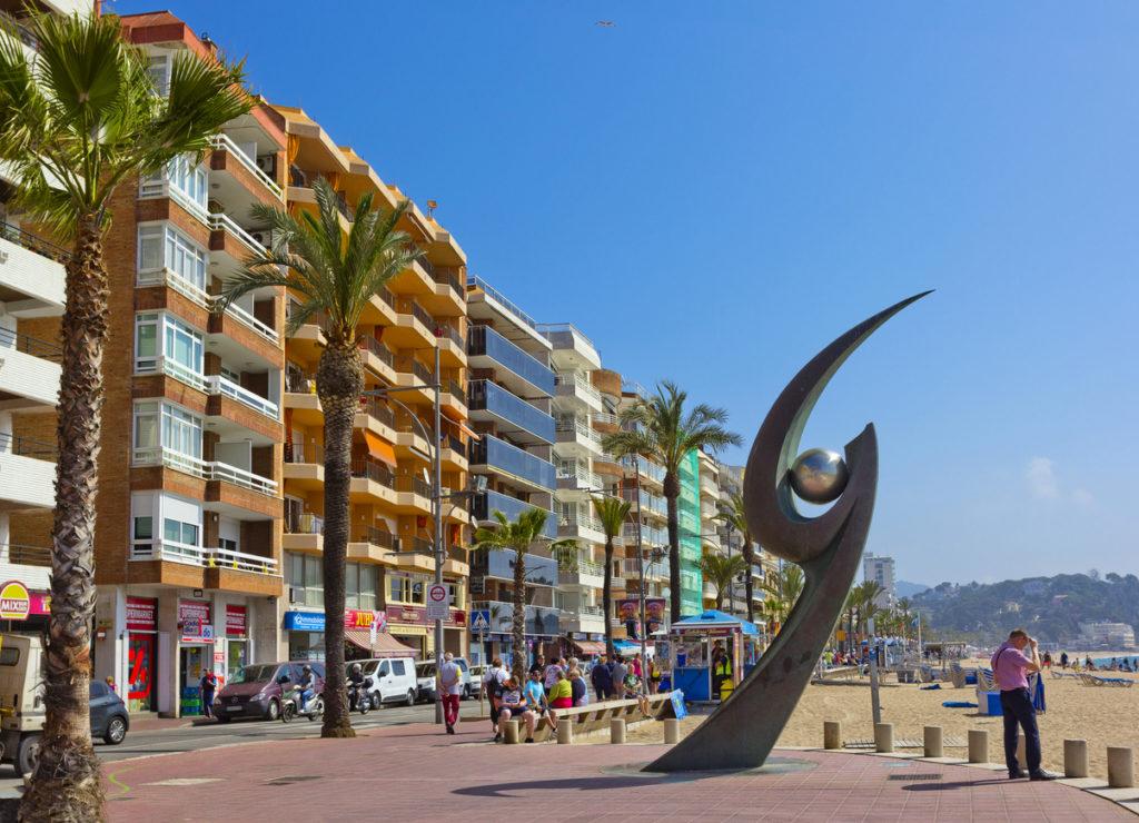 Promenade of Lloret De Mar