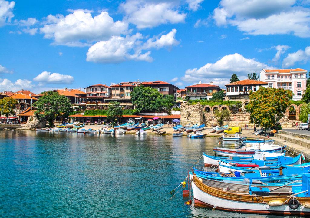Quaint Boats in Nessebar, Bulgaria