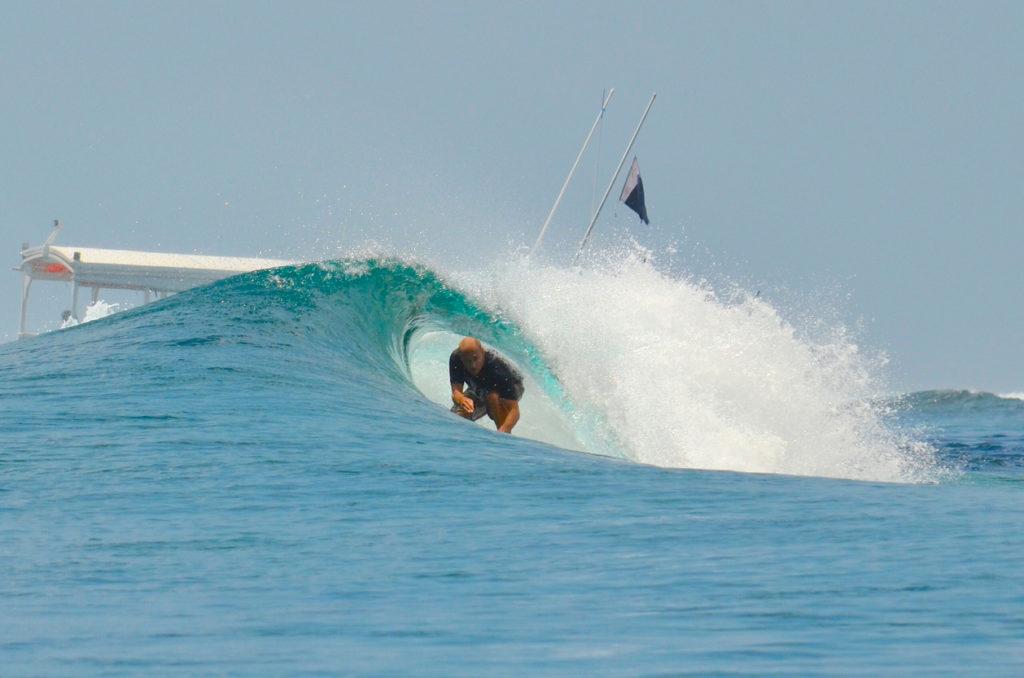 Surfing The Maldives