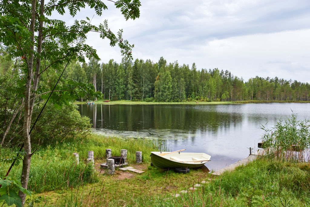 The Lakes in Finlands