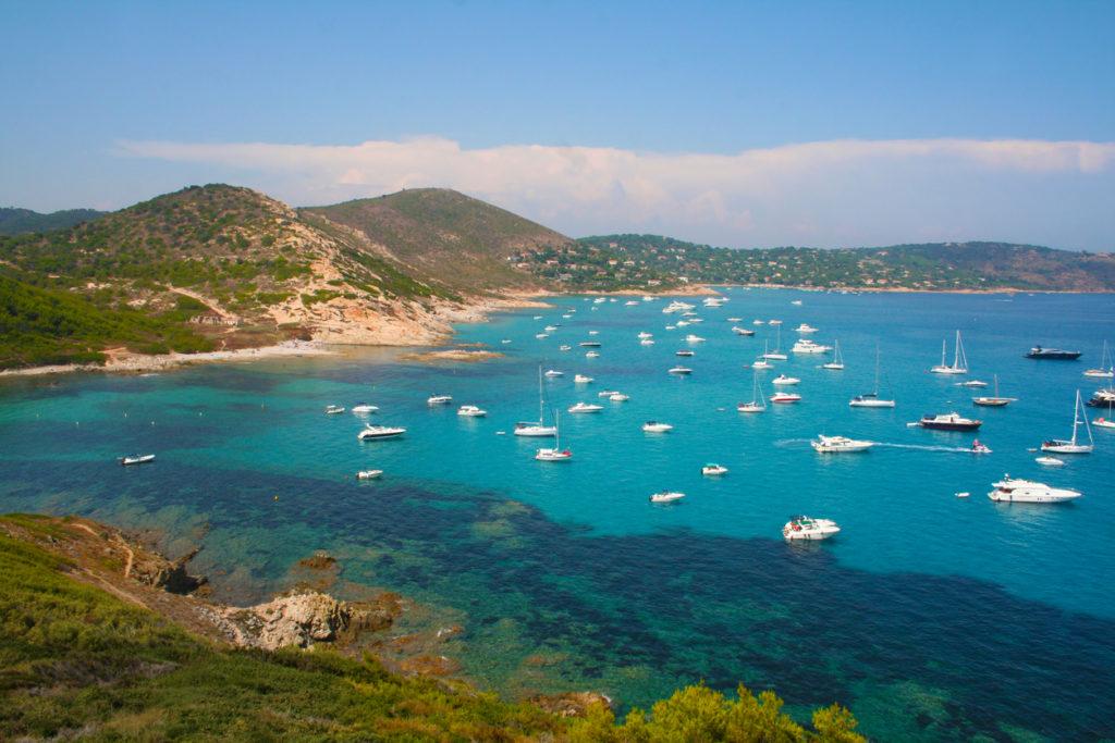 L´Escalet Beach, Cape Camarat, South of Saint Tropez