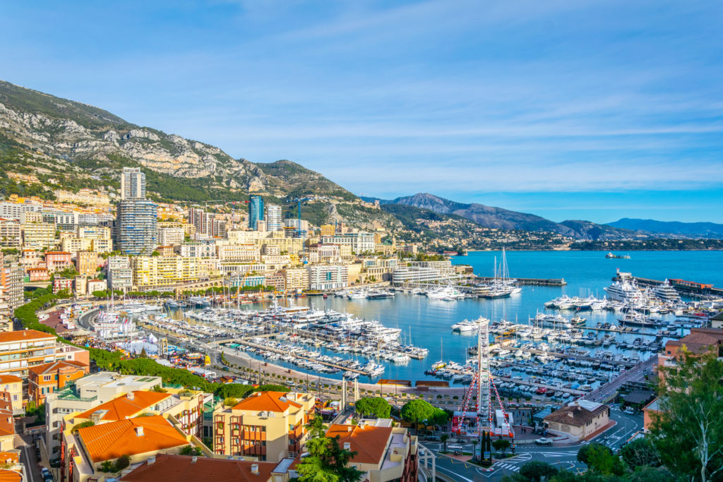 Port Hercule in Monaco