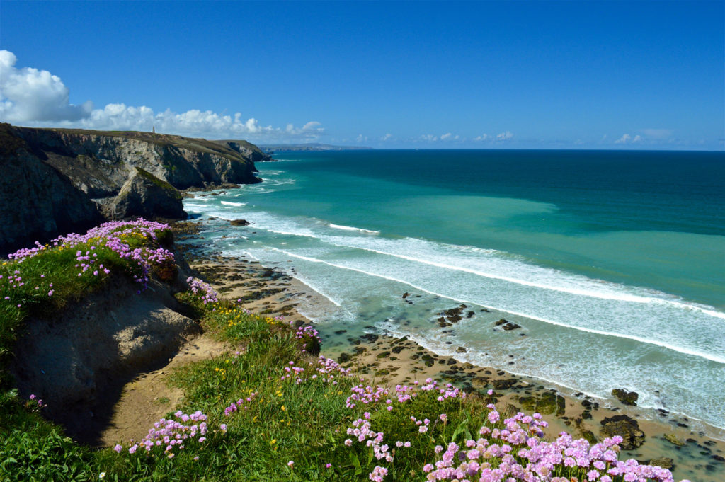Porthtowan in Cornwall