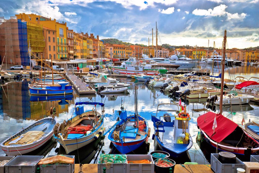 Saint Tropez at Cote d Azur