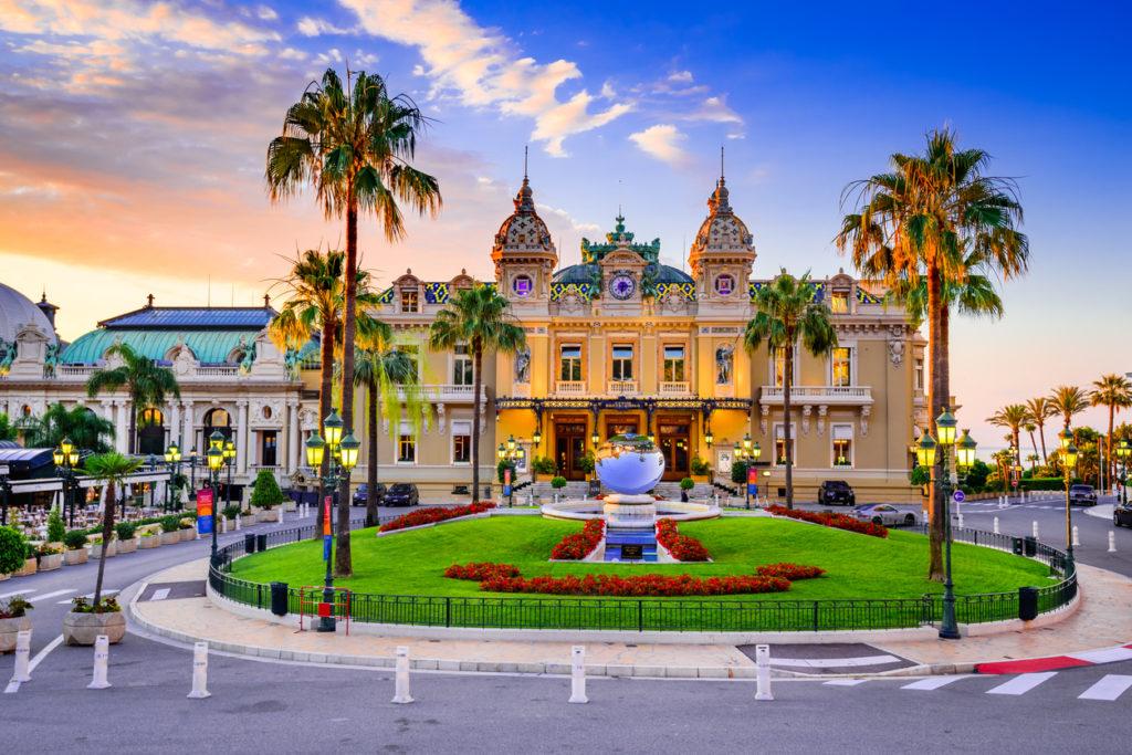 The Monte Carlo Casino, gambling and entertainment complex in Monte Carlo