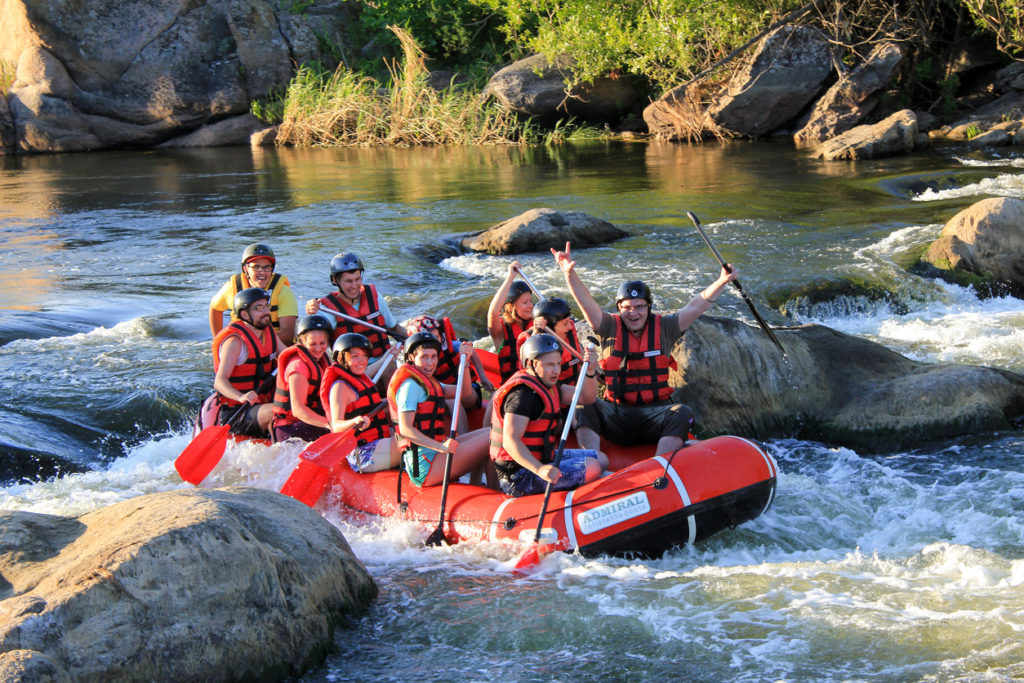 Whitewater Rafting on the Dudh Koshi river in Nepal