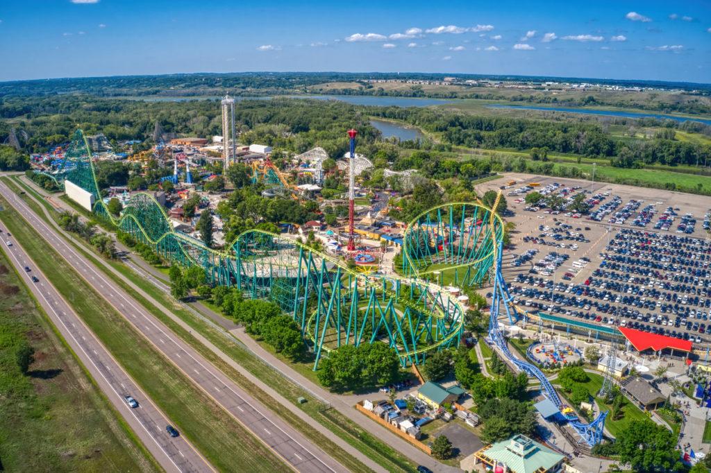 Amusement Park in Shakopee, Minneapolis
