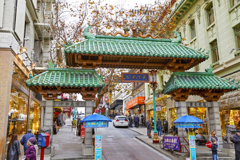 Chinatown Gateway San Francisco