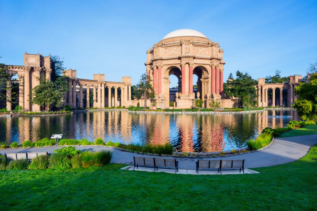 Exploratorium and Palace of Fine Art in San Francisco