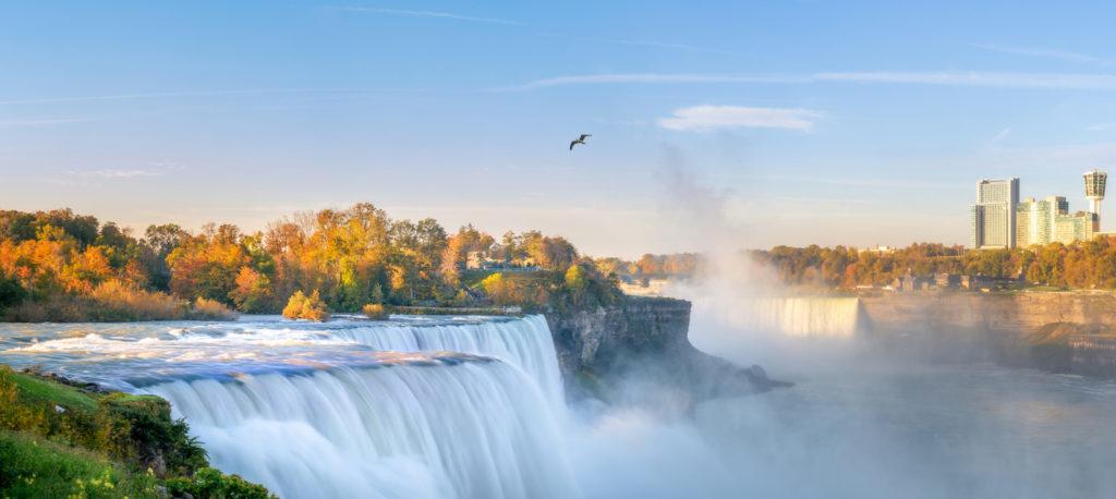 Niagara River in Fall
