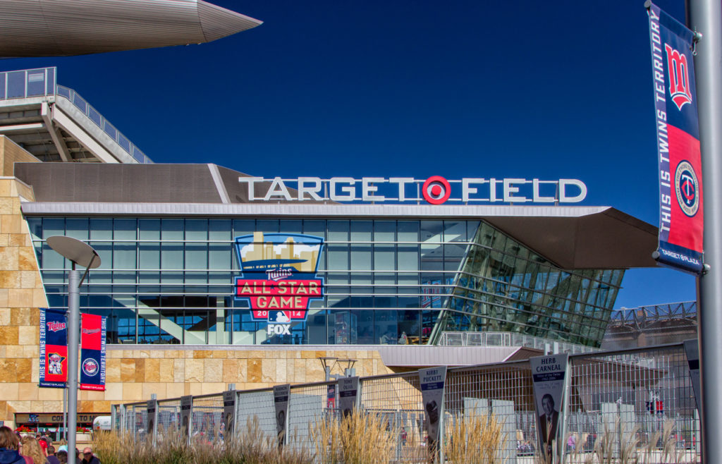Target Field home of the Twins Baseball