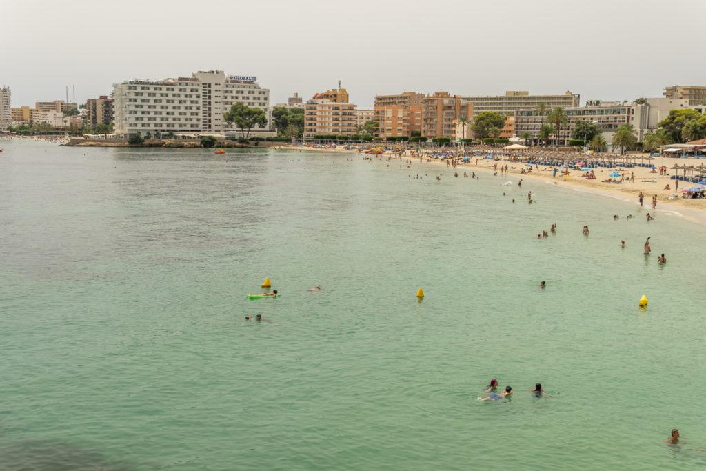 Safe Swimming in Palma Nova